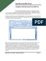 Chuungatech Microsoft Word 2007