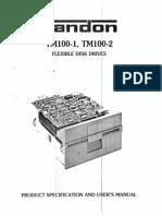 Tandon TM-100-1 Flexible Disk Drive