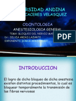Anestesilogia - Bloqueo Del n. Mandibular(1)