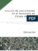 Análisis de una vivienda vernácula en el municipio de Chiapa de Corzo