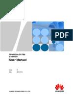 TP48200A-D17B6 User Manual (V300R001_01)