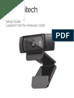 Hd Pro Webcam c920 Quick Start Guide