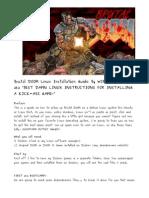 Brutal Doom Linux Install