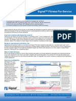 Signal FFS Software Datasheet