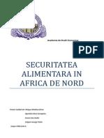 Securitatea Alimentara in Africa de Nord