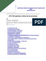 ASISTENCIA PIEZAS DE AERONAVES DE FABRICACIÓN AMM&IPC