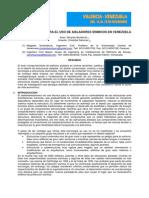 r. Bonilla y c. Sanchez, Oportunidades Para El Uso de Aislad