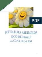 Dezvoltarea abilităţilor emoţionale la copii EU