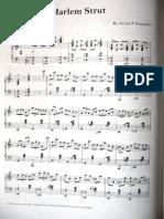 Harlem Strut Piano sheet music