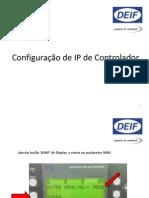 Configuração IP AGC3