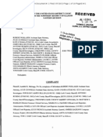 7/10/13, Complaint, Melongo v. Podlasek et al