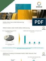 HoldCo Short-term Debt Refinancing