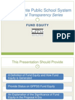 GPPSS Financial Transparency Series_Fund Equity