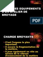 2    ROLES DES EQUIPEMENTS D'UN ATELIER DE BROYAGE