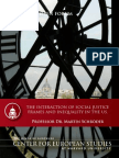 The Interaction of Social Justice Frames and Inequality in the US (CES Open Forum Series # 16)
