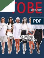 Tobe Cover Vol III Runway Fall 2013-14