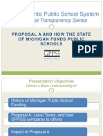 GPPSS Financial Transparency Series_School Funding and Taxes