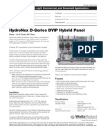 HydroNex Specification D-Series DVIP Hybrid Panels