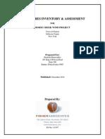 Iberdrola  Horsecreek ~ DEIS p Fisher Structures Assessment 01-04-11