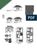 Three Bedroom House Plan-model