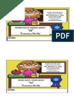 Premios Ganadoras Mayo y Junio Plan Lector-2013