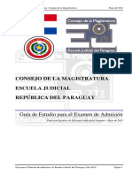 Guia de Estudios Examen Admision 2013