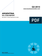 BMI Argentina Oil and Gas Report Q3 2013[1]