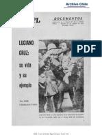 Luciano Cruz Su Vida y Ejemplo, Punto Final N 138