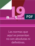 19 normas tipograficas