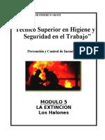 Modulo I-5 - La Extincion-Halones