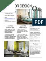 interior design syllabus-kb