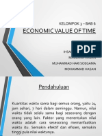 Presentasi Kelompok 3 - Value of Time