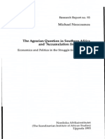 The Agrarian Question South Africa and Accumulation From Below (Michael Neocosmos, 1993)