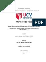 Proyecto de Tesis - Presentacion Jhonny Castañeda García