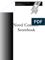 2008 Novel Connect Scorebook