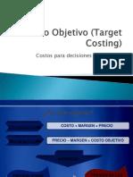 Costo Objetivo Target Costing