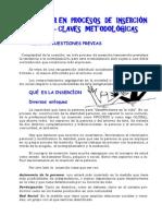 5. Trabajar en procesos de inserción social