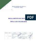Cap Mineria Proveed Reglamento Transito Los Colorados