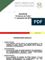 Ayudantía - Criterios de Falla