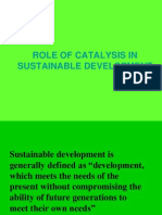 Role of Catalysis in Sustainable Development4th
