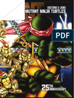 Teenage Mutant Ninja Turtles 25th Anniversary Book Preview
