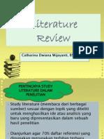 LITERATURE REVIEW Penulisan Skripsi