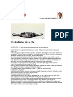 Periodistas de a Pie. Por Gustavo Gorriti