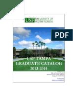 USF Grad Catalog 2013-2014