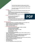 Study Guide Latin America