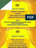 Presentation Agong