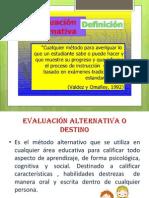Equipo Fagv Evaluacion Alternativa Diapositivas