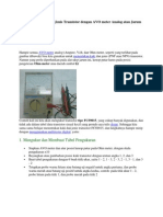 Menentukan Kaki Dan Jenis Transistor Dengan AVO Meter Analog Atau Jarum