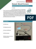 blood pressure manual
