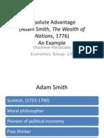 Absolute Advantage - Principles of Economics
